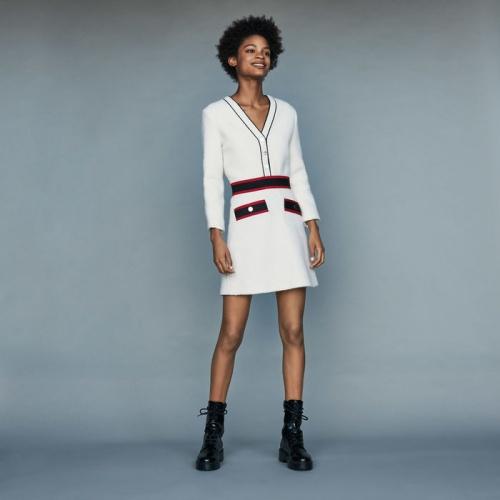 Maje - ROSINE - Robe courte en tweed