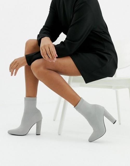 ASOS DESIGN - Bottines chaussettes