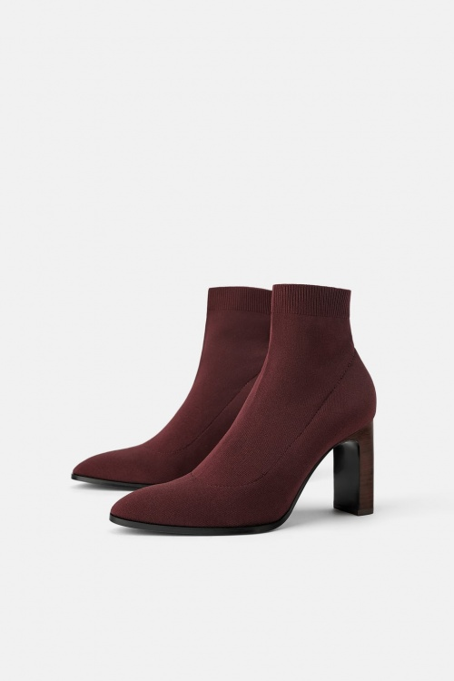 Zara - Bottines chaussettes