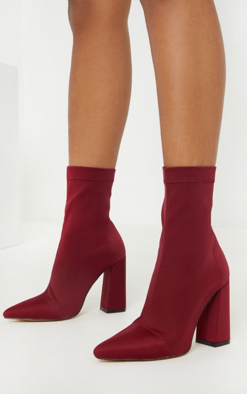 Pretty Little Thing - Bottines chaussettes
