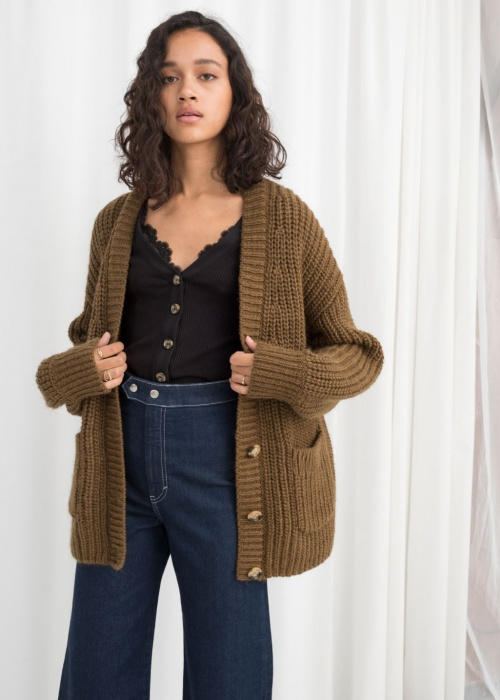 & Other Stories - Cardigan oversize