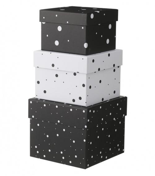 Hema - Lot de 3 boîtes