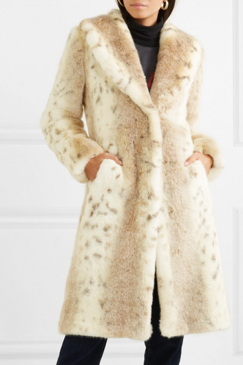 Fuzz not fur - Manteau en fourrure synthétique Snow Knight