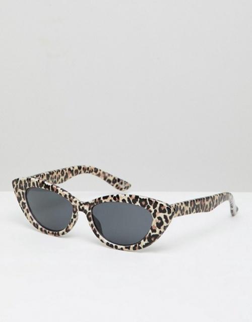 Asos- Lunettes yeux de chat motif léopard