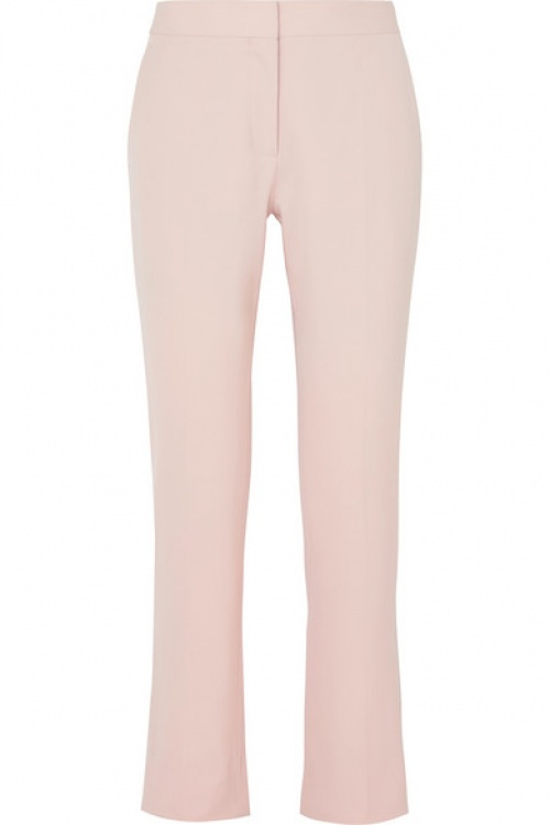 Stella Mc Cartney - Pantalon droit en serge de laine
