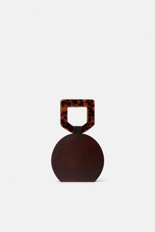 Zara - Sac à main en bois
