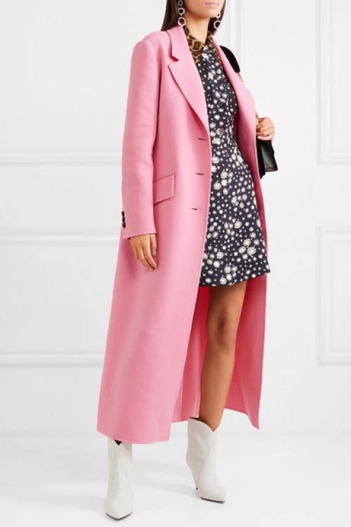 Miu Miu - Manteau en laine à ceinture