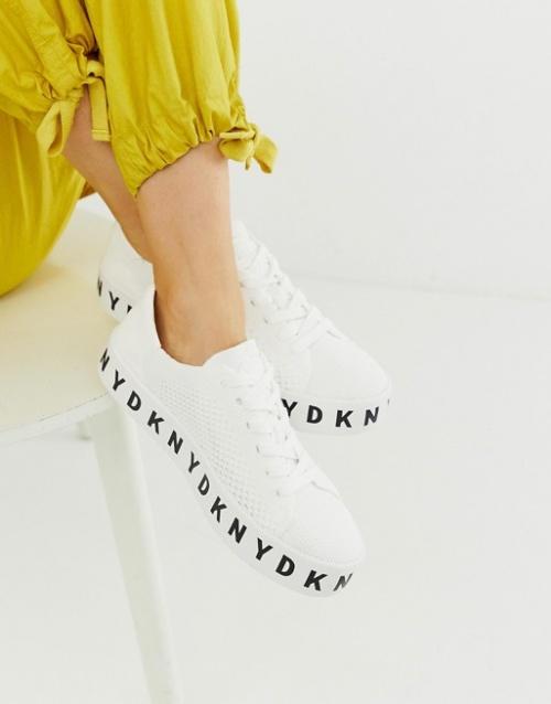 DKNY - Baskets en maille à plateforme