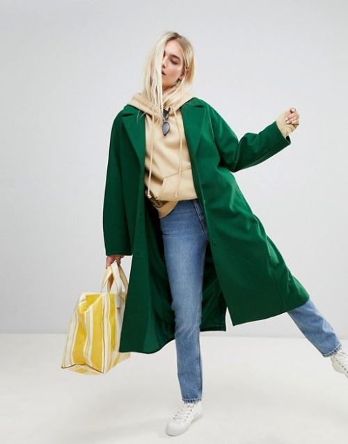 Weekday - Manteau en laine