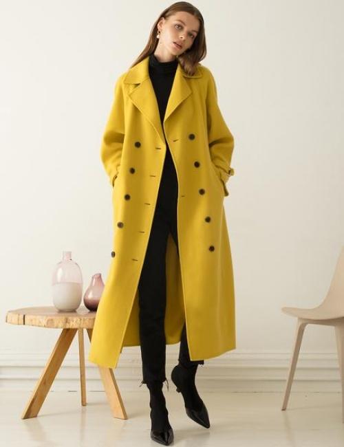 Pixie Market - Manteau jaune