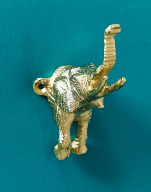 ASOS SUPPLY - Crochet en forme d'éléphant