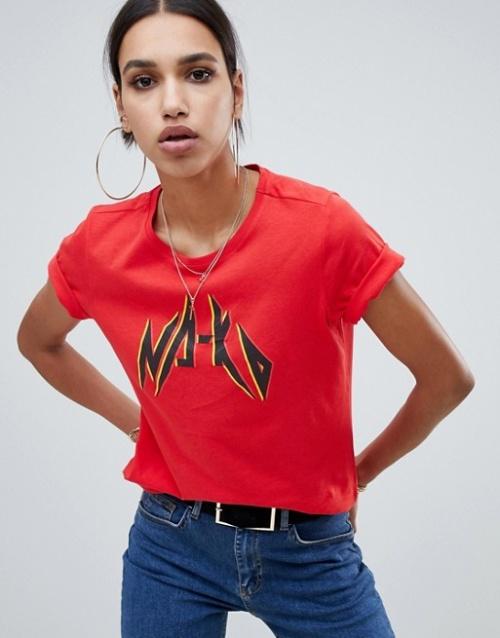 Na-kd - T-shirt à logo style urbain