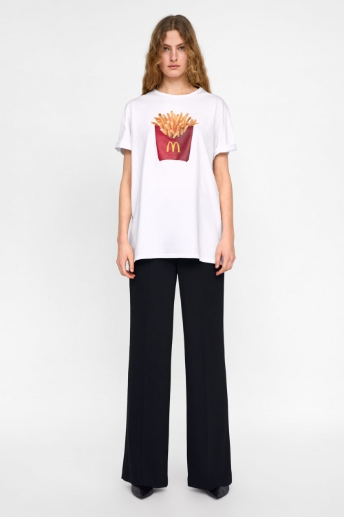 Zara - T-shirt unisexe Mc Donalds