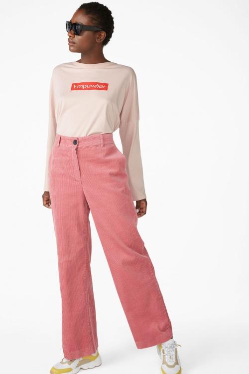 Monki - Pantalon en velours côtelé