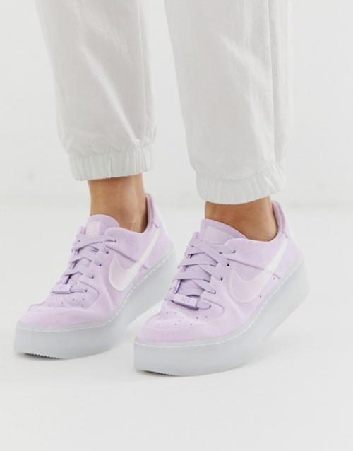 NIKE - Ice Air Force 1 sage lilas