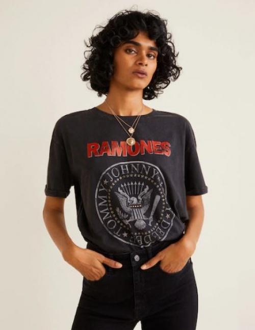 Mango - T-shirt Ramones