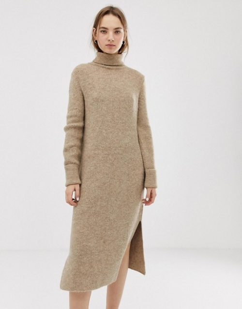 Asos- Robe pull fendue