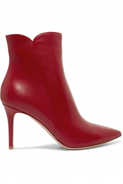 Gianvito Rossi - Bottines en cuir Levy 85