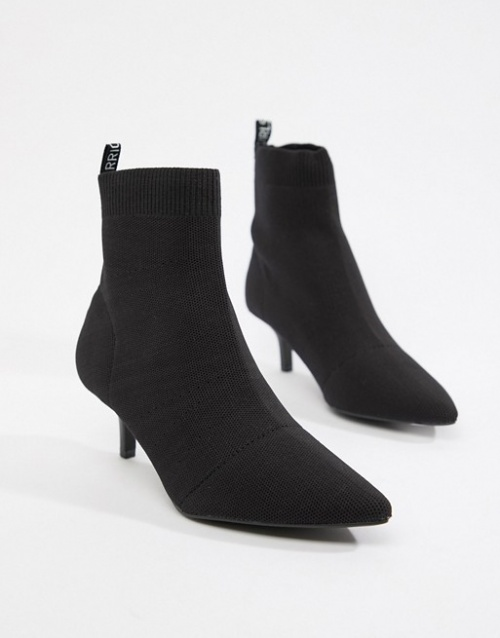 Pull&Bear - Bottines à petit talon