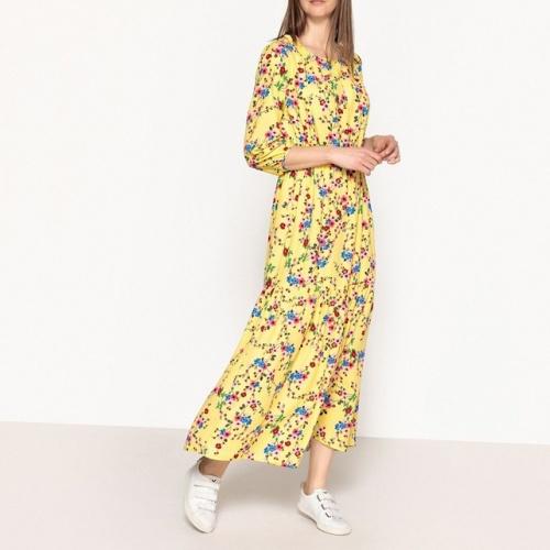 La Redoute- Robe longue imprimée