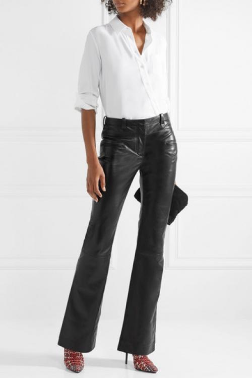 Altuzarra - Pantalon bootcut en cuir Serge