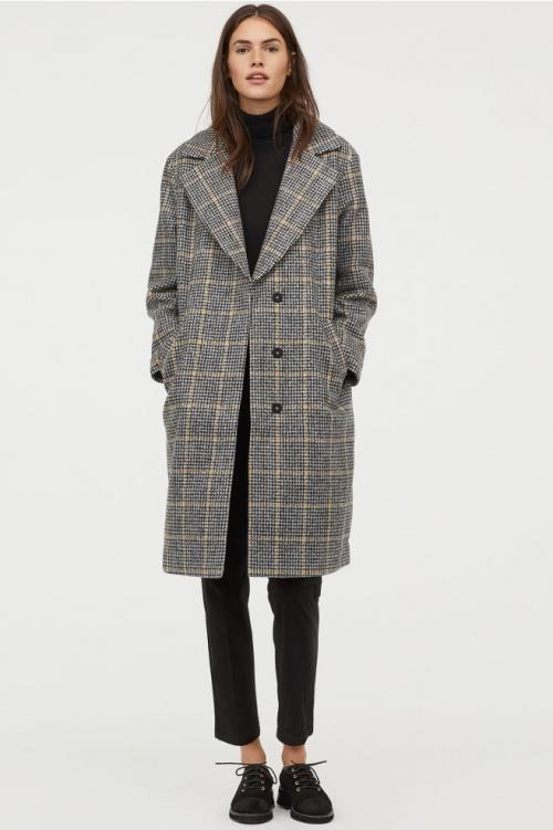 H&M- Manteau feutre