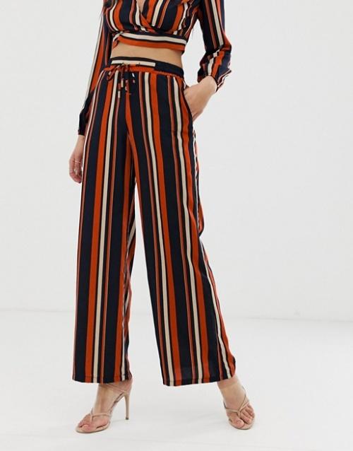 Outrageous Fortune - Pantalon large d'ensemble à rayures