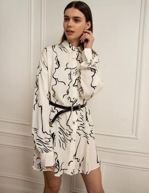 Pixie Market - Robe chemise