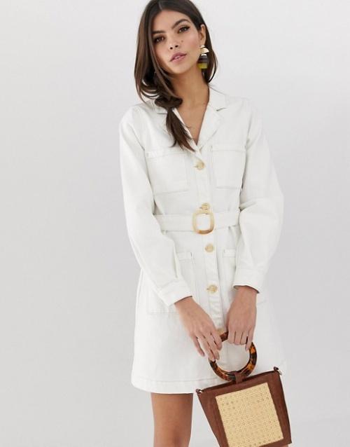 ASOS DESIGN - Robe en jean