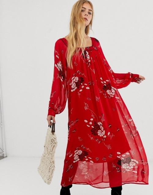 ASOS DESIGN - Robe longue