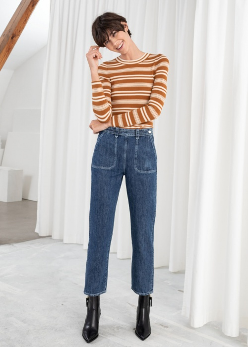 & Other Stories - Jeans taille haute