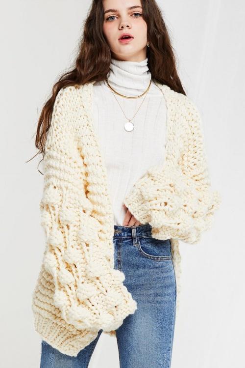 Storets - Cardigan en grosse laine