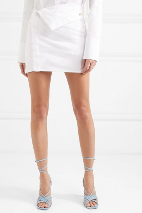 Jacquemus - Mini-jupe en jean