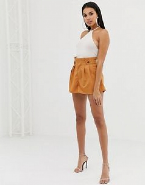 PrettyLittleThing - Short à boutons