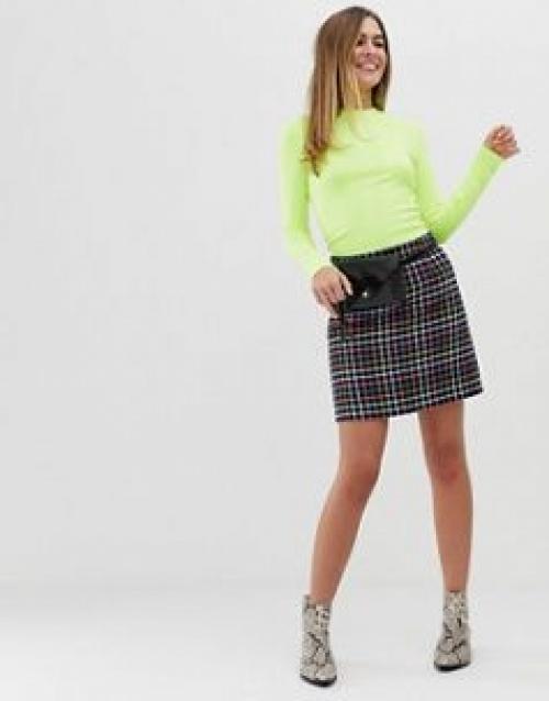 New Look - Mini-jupe à carreaux