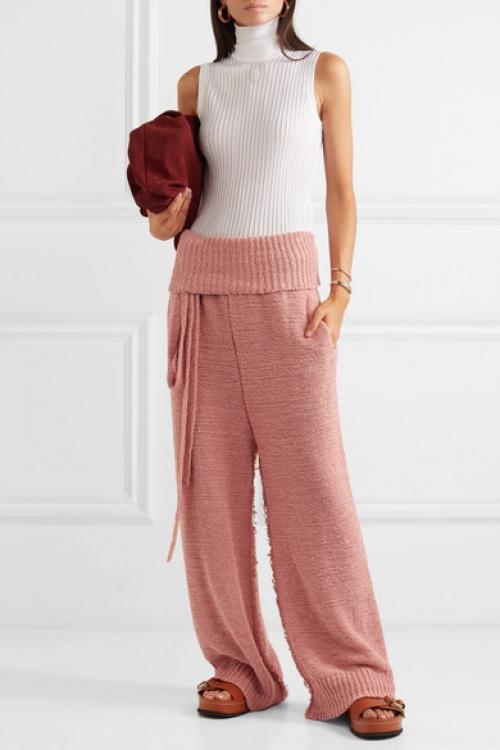 Stella McCartney - Pantalon en coton mélangé