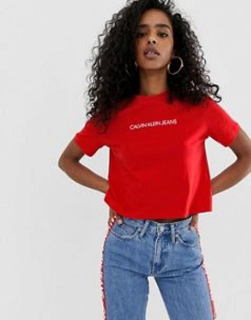 Calvin Klein Jeans - T-shirt court avec logo
