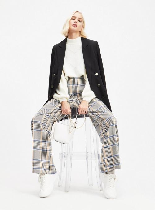 Miss Selfridge - Pantalon à carreaux