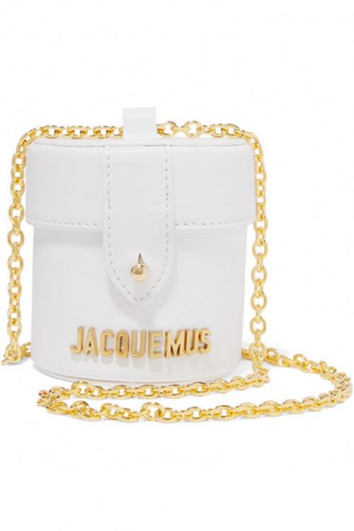 Jacquemus - Sac porté épaule en cuir Le Vanity