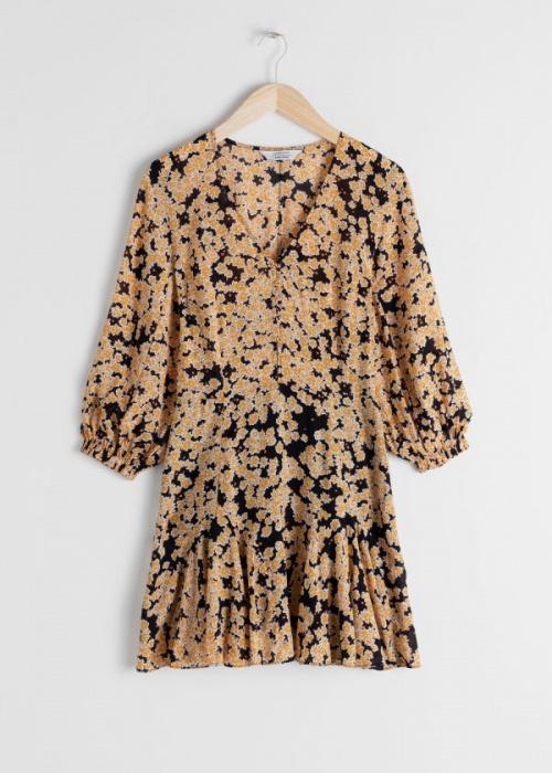 & Other Stories - Robe à motifs floraux