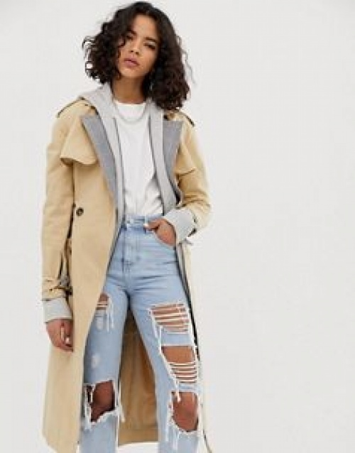 Reclaimed Vintage Inspired - Trench long