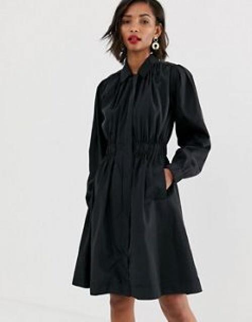 Y.A.S - Trench-coat froncé de qualité supérieure