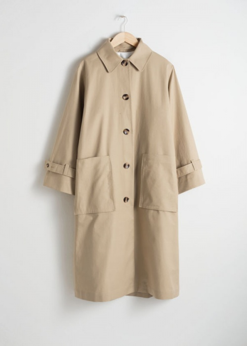 & Other Stories - Trench coat oversize