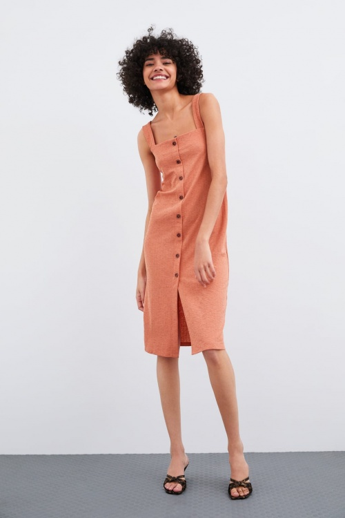 Zara - Robe à boutons