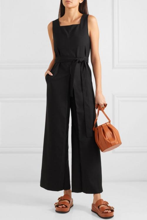 Low Classic - Combi-pantalon en crêpe à ceinture