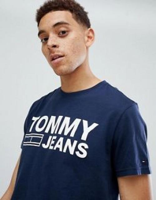 Tommy Jeans - Essential - T-shirt avec logo