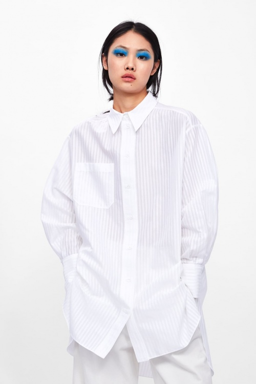 Zara - Chemise XL à poches