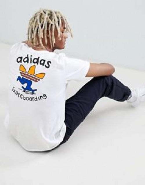 adidas - Skateboarding T-Shirt avec imprimé au dos