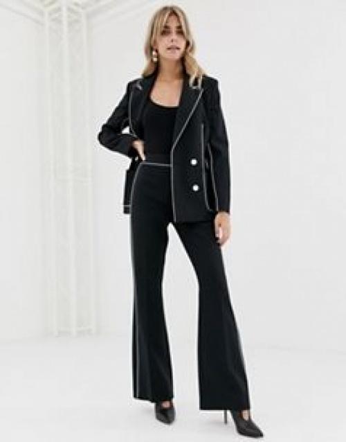 ASOS DESIGN - Pantalon de costume ajusté