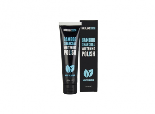Mr Blanc - Bambou Charcoal Whitening Polish